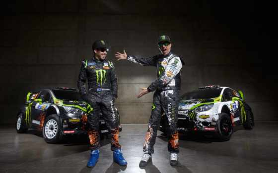 block, ken, ford, fiesta, drift, monster, car, energy, rally,