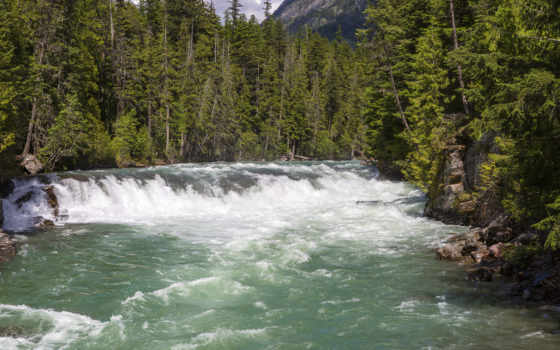 montana, glacier, waterfalls, print, подборка, огромный, качество, high,