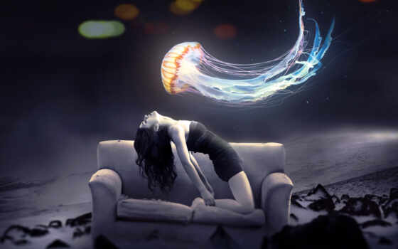 astral, девушка, desdoblamiento, jellyfish, astrale, amigo, роберт, nos, explica, alguna, efectuar