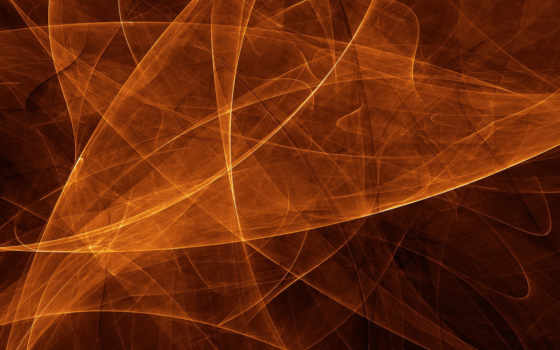 orange abstract lines