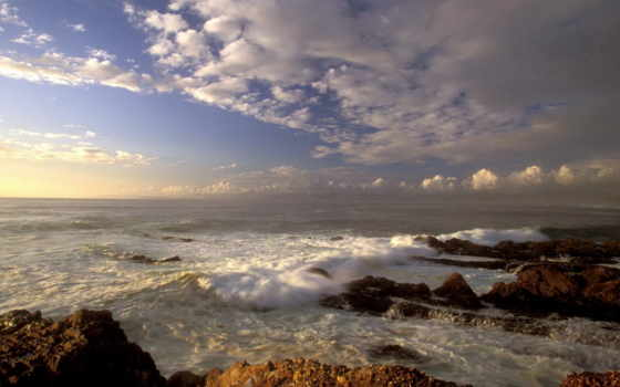 волны, море