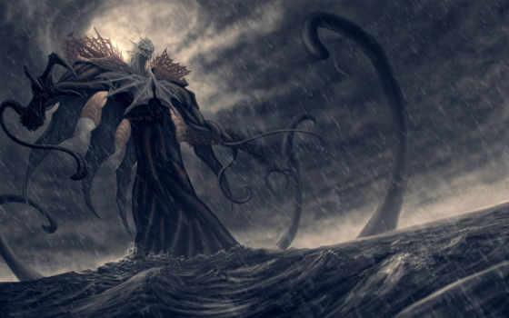 monster, ocean
