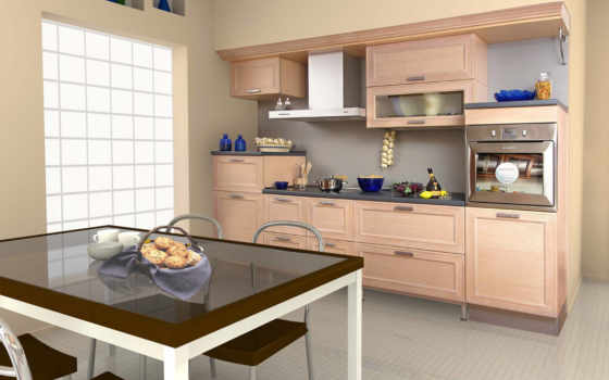 кухни, фасад, кухня