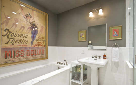 комната, ванная, ванной, dizain, красивая, комнаты,