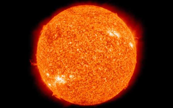сол, estrela, que, uma, солнечный, sistema, terra, como,
