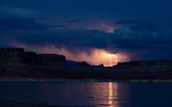 мар, буря, paisagem, landscape, ночь, море, noite, papel, gratis, fotos, tempestade,
