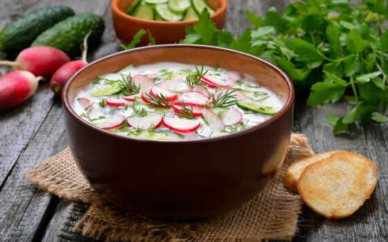 okroshka, meat, varenyi, myasnoi, kefir, яйцо, отвар, cook, поль, жан