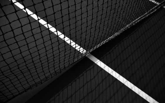 теннис, большой, сетка