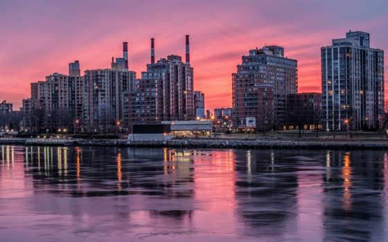 мегаполисов, пейзажи -, городские, пользователя, коллекция, зеркала, нью,