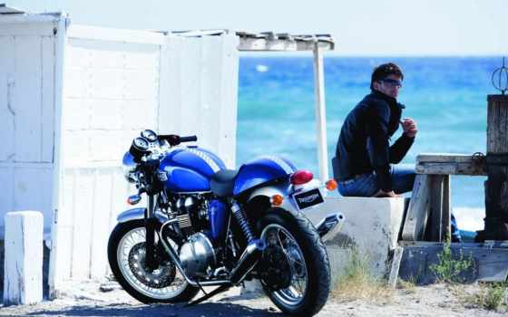 the, quo, speed, triumph, thruxton, bonneville,