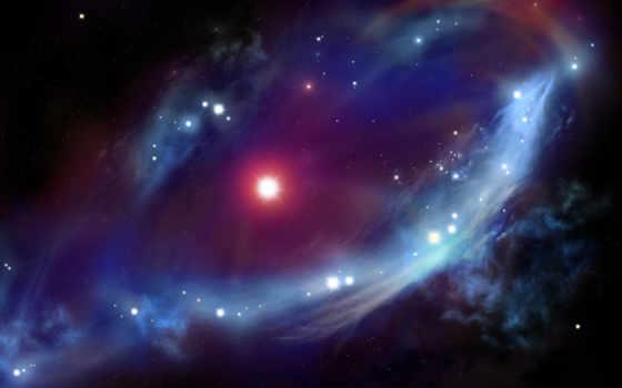 космос, туманность Фон № 24438 разрешение 1920x1080