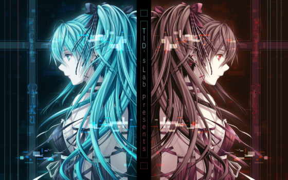 anime, девушка, vocaloid