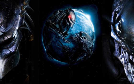 хищник, alien, чужой, movie, aliens, хищника, requiem, против,