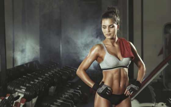 фитнес, поза, workout, отдых, transpiration, девушка, sportswear,