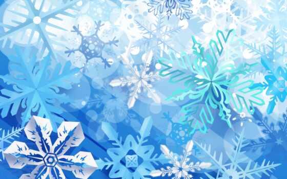 новогодние, фоны, новый год, снежинок, красивые, снежинки, фотошопа,