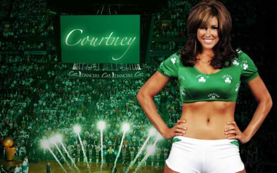 celtics, танцовщица, cheerleaders