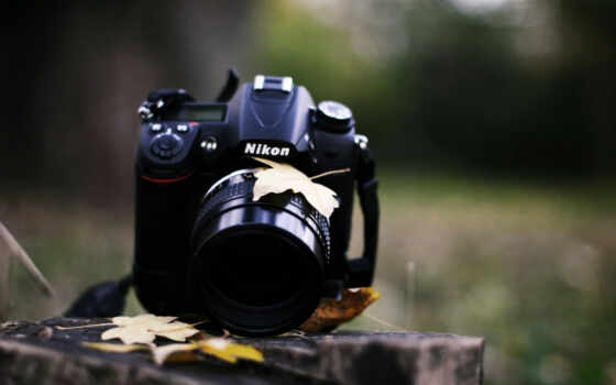 фотоаппарат, nikon, взгляд