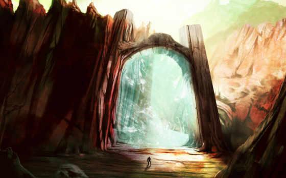 gate, портал, магия