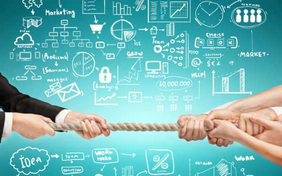 entreprise, les, une, management, des, conflit,
