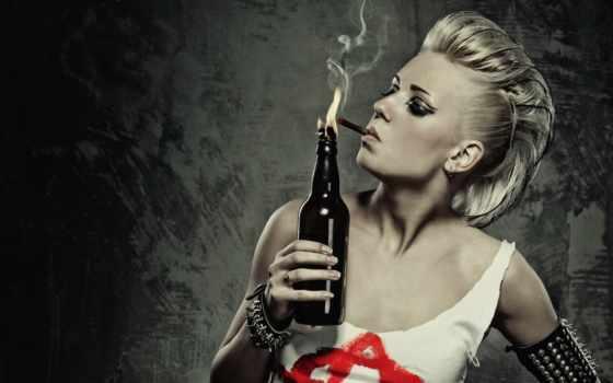девушка, smoking, пламя, сигарета, devushki, бутылка, quit, best,