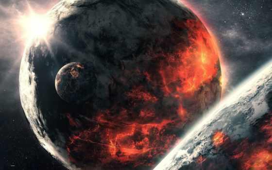cosmos, космос, планеты, qauz, desktop, art, высокого,