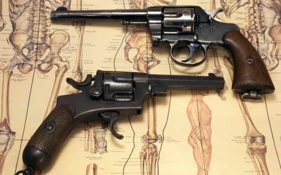 оружие, handgun, военное, revolvers, mixed, guns, incredible, new,