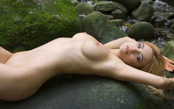 девушка, водопада, голая, devushki, голышок, эротика, голых,