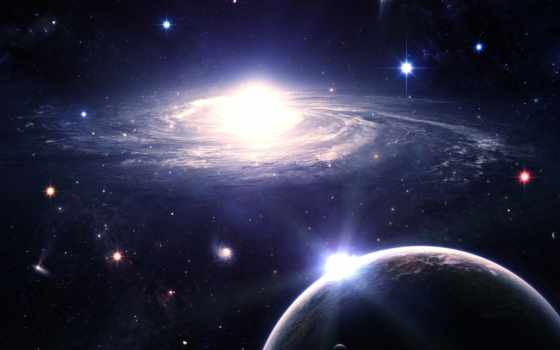 stars, planets, космос, planet, desktop, galaxy, universe, свет,