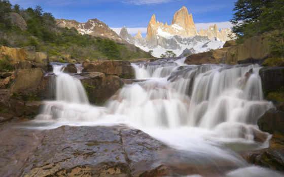 водопад, водопады, красивый