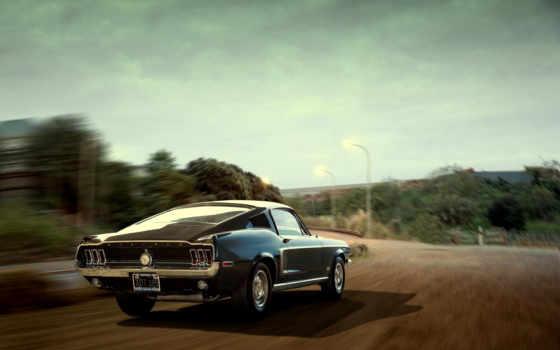 ford, mustang, автомобили, cars, stunning, muscle, авто, реактивный, cobra, rear,