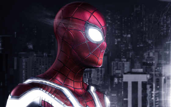 паук, мужчина, фильмы, плакат, marvel, spiderman, захватывающие, яркие,