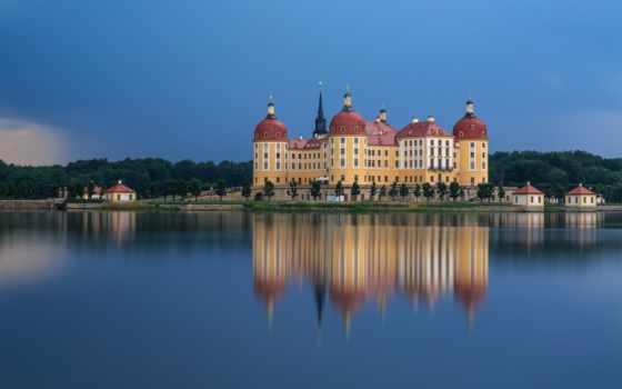 german, castle, moritzburg
