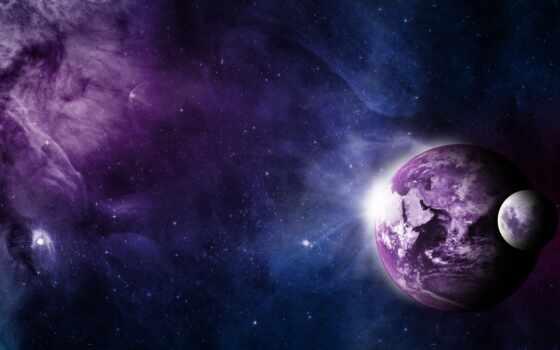 космос, star, красивый, nebula, galaxy, planet, multicolored, интересно, cosmic
