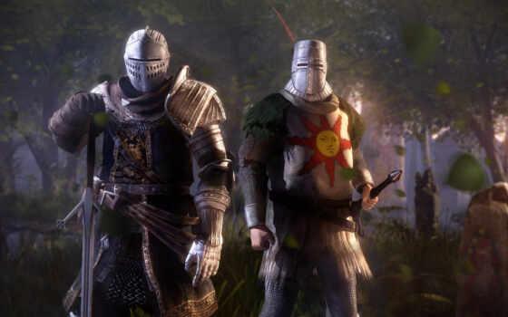 soul, dark, рыцарь, dushit, два, abyss, game, серия