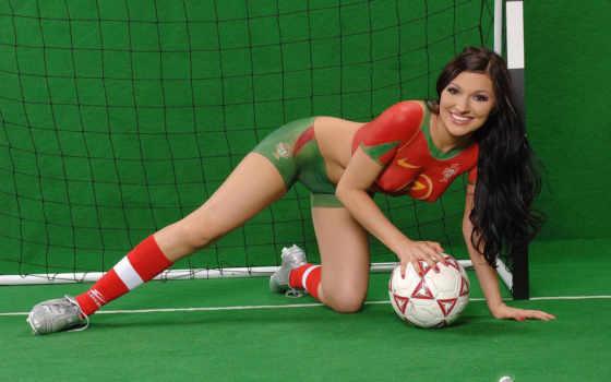 девушки, футболистки