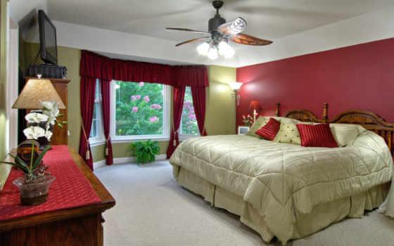 спальня, интерьер