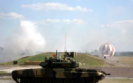 , техника, россия, полигон, танк, т-90,