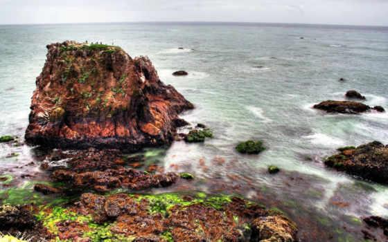 море, скалы, скалах