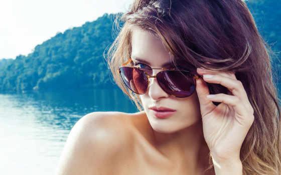 модель, fontana, izabeli, девушка, brunette, isabeli, очках, картинка,