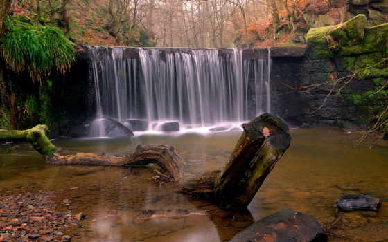 фотографии, водопадов, природа