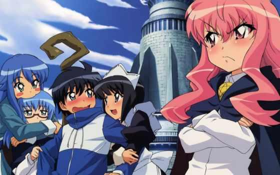 zero, tsukaima, anime
