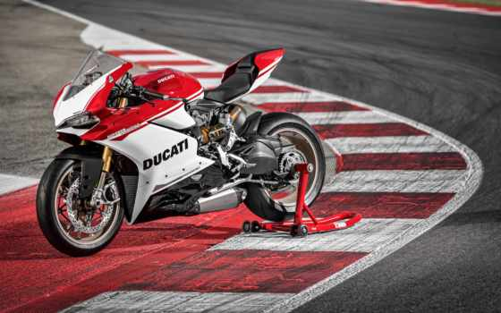new, world, ducati, motorcycles, panigale, anniversario,