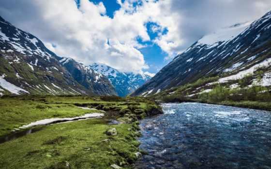горы, холмы, красивые