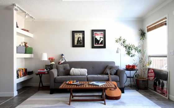 интерьер, комната, кухня, гостиной, молодёжная, комнаты, ремонт, мебель, интерьера,