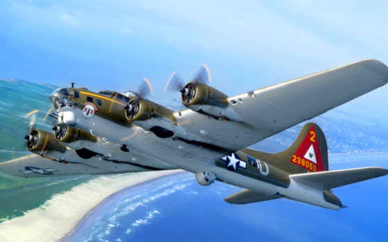 бомбардировщик, самолёт, plane