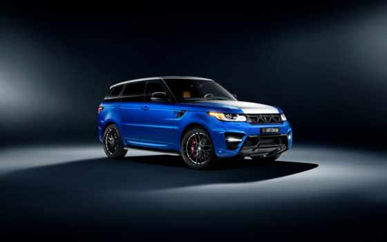 rover, range, спорт, land, larte, design, winner, azul,