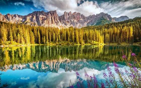 carezza, озеро, karersee