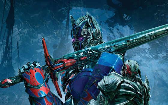 transformers, последний, рыцарь, трансформеры, optimus, trailer,