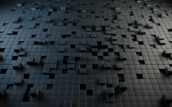 cubes, абстракция, стиль