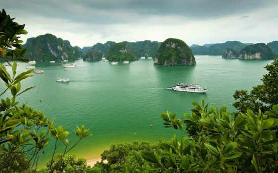 bay, halong, вьетнам